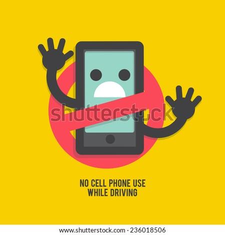 no cell phones - icon,logo,vector  - stock vector