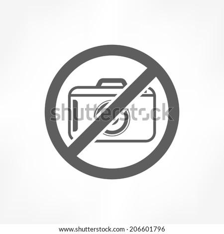 No photo icon - stock vector