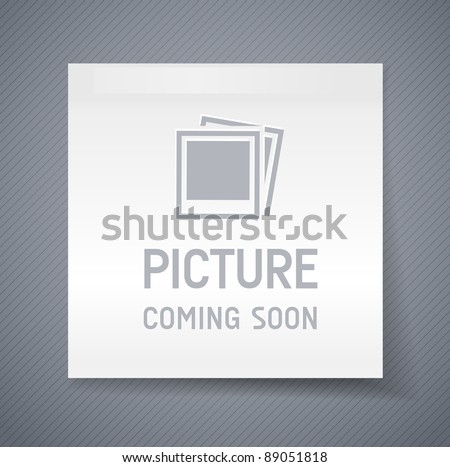 no picture image - internet error thumbnail - stock vector