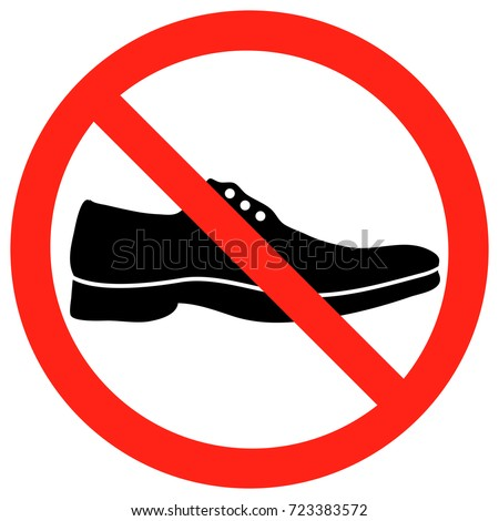 No Shoes Allowed Stock Images, Royalty-Free Images ...