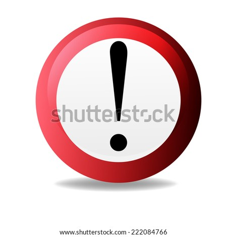 No Sign, No symbol, Not Allowed isolated on white background - stock vector