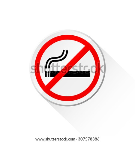 No smoking shadow