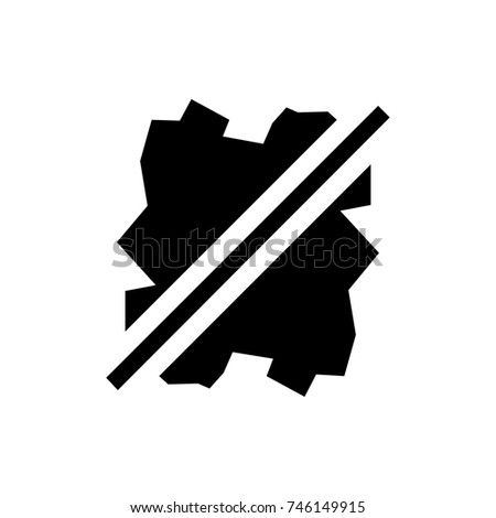 No Wash Icon Illustration Isolated Vector Stock Vector 746149915