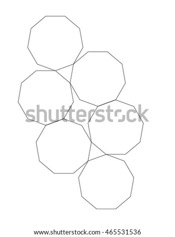 Nonagon Stock Photos, Royalty-Free Images & Vectors - Shutterstock