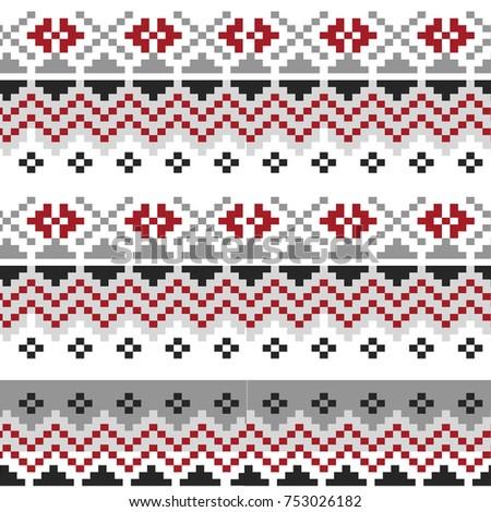 navajo border designs. Delighful Navajo Nordic Traditional Pattern Wallpaper Textile Web Cards Ethnic  Border With Navajo Designs C