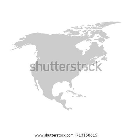 north america template