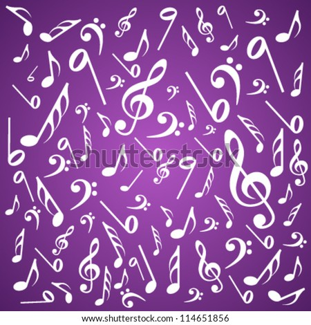 note - stock vector