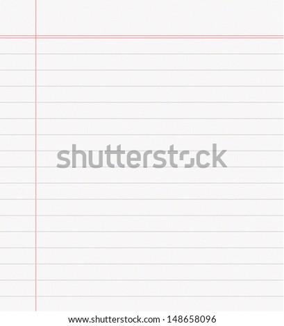 Note book page - stock vector