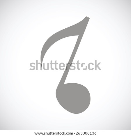 Note web black icon on a white background. Vector symbol