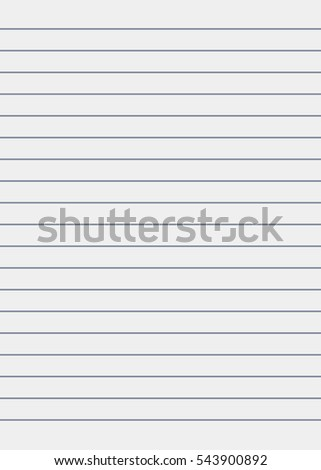 Notebook Paper Background. Lined Paper  Line Paper Background