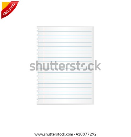 writing paper stock images royalty images vectors  notebook paper vector notebook paper background isolated lined paper
