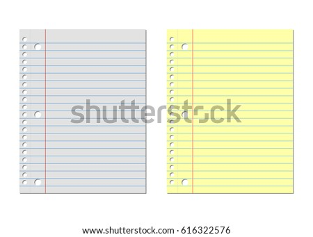 Lined Paper Background Stock Images, Royalty-Free Images & Vectors