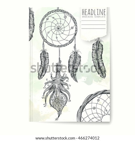 dream catcher tattoo template - stock images royalty free images vectors shutterstock