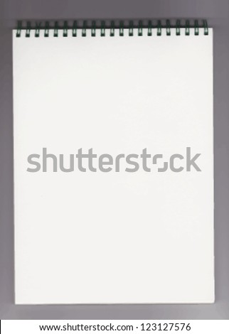 notebook vector illustration