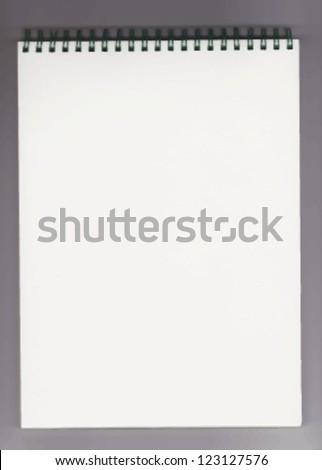 notebook vector illustration - stock vector