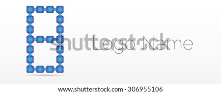 Number collection - 8. Vector illustration.