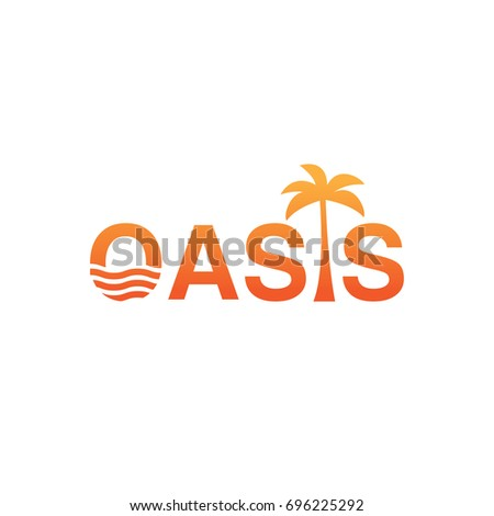 Oasis Stock Images, Royalty-Free Images & Vectors ... Oasis Water Logo