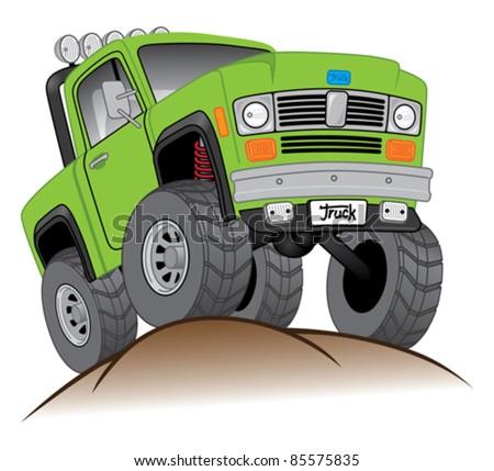 Off Road Truck - stock vector
