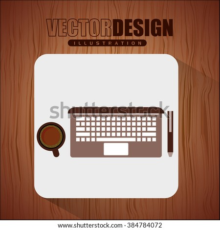 office and business icon design