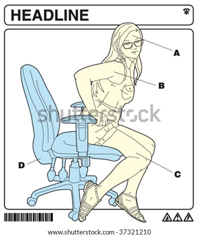 office instructions 4 - stock vector