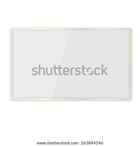 office magnetic board.Vector