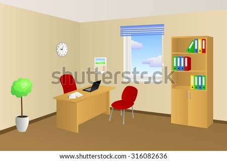 Cartoon Office Stock Images, Royalty-Free Images & Vectors ...