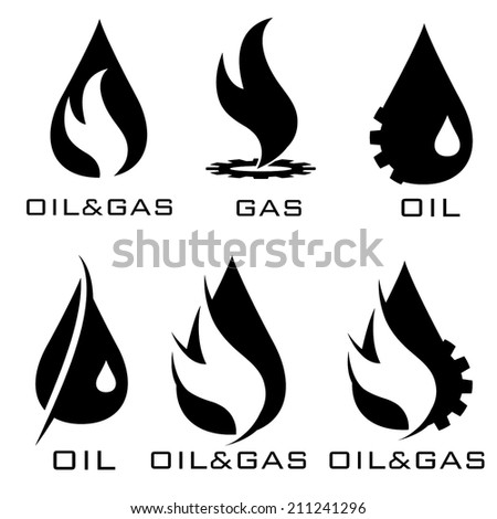 oil and gas industry iillustration - stock vector