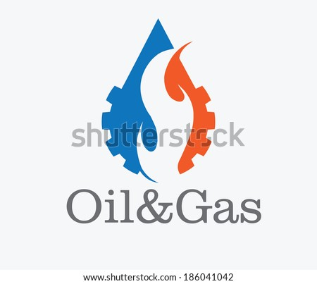 oil and gas industry iluustration - stock vector