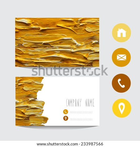 Oil painting stock vectors vector clip art shutterstock for Oil painting templates