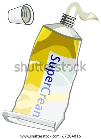 ointment - stock vector