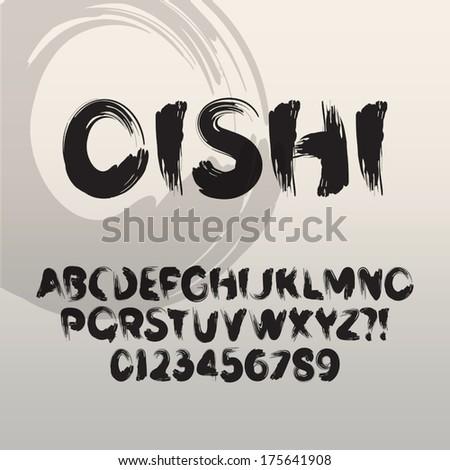 Font Brush Paint