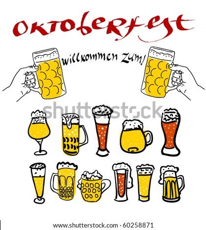Oktoberfest - stock vector