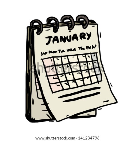 Calendar Cartoon Stock Images, Royalty-Free Images & Vectors ...