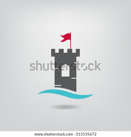 old castle icon