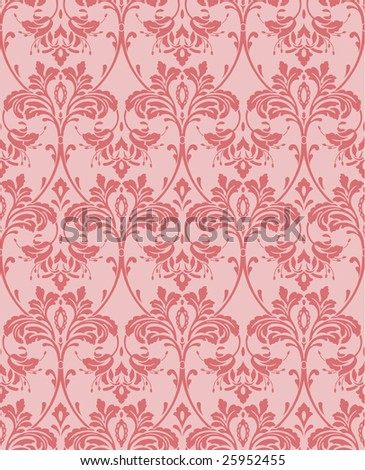 old-fashioned wallpaper - stock vector
