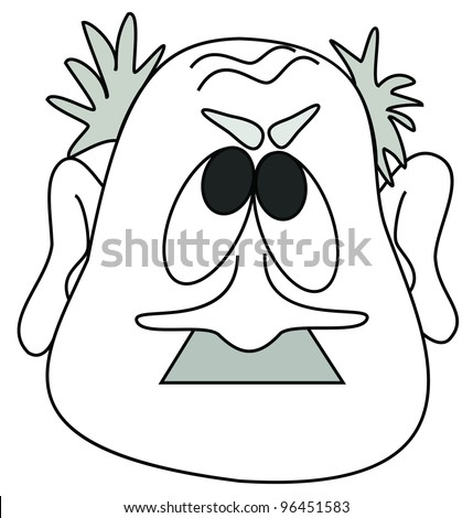Old Man Face Cartoon Old Man Face Cartoon