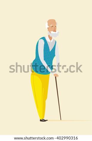 Old man, Old man, Old man, Old man, Old man, Old man, Old man, Old man, Old man, Old man, Old man, Old man, Old man, Old man, Old man, Old man, Old man, Old man, Old man, Old man, Old man, Old man. - stock vector