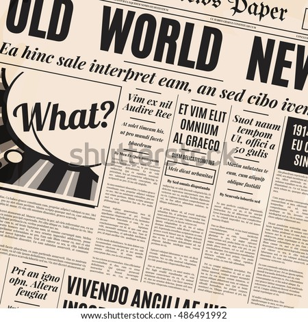 Old Newspaper Background Stock Images RoyaltyFree Images