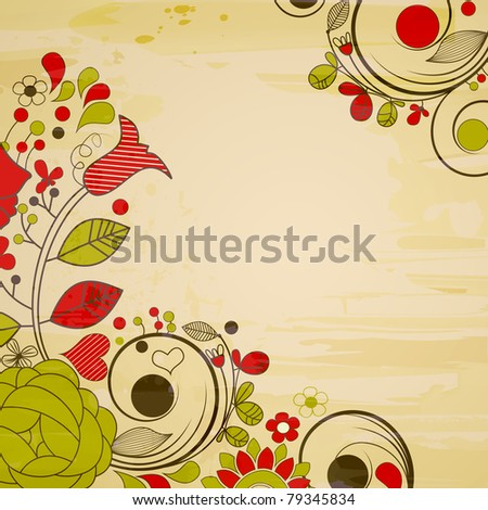 Floral Decorations floral decoration clip corner stock images, royalty-free images