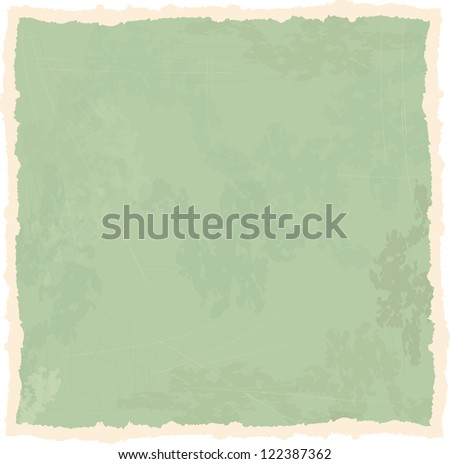 old paper texture, retro background, vector illustration - stock vector