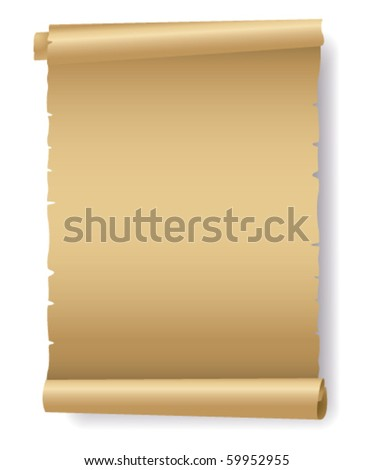 Old paper vector - stock vector