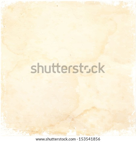 Old paper. Vector illustration - stock vector