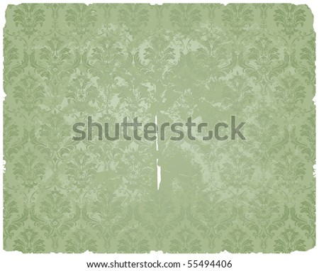 Old pattern, vector - stock vector