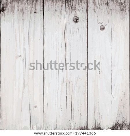 Old Planks Background for your design. EPS10 vector. - stock vector