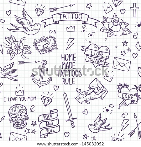 Tattoo Stock Photos Royalty Free Images amp Vectors