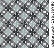 Old style tiles seamless background, vector pattern design. Seamless pattern. - stock photo