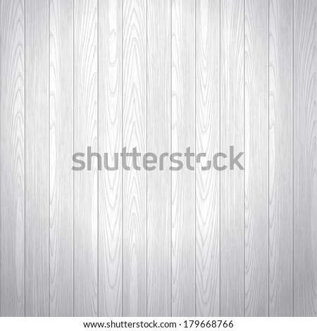Old washed wood texture vector background. Floor boards. Gray color. - stock vector