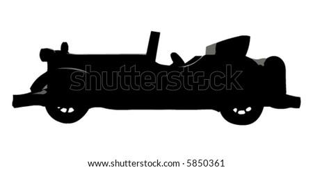 Oldtimer vector - stock vector
