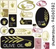 Olive Oil / Labels - stock vector