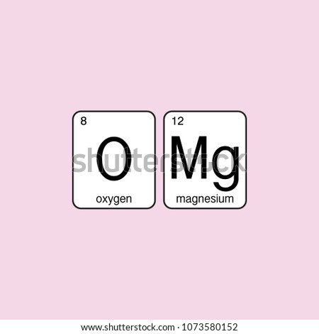 Omg pink sign emotion expression symbol stock vector royalty free omg pink sign emotion expression symbol periodic table science elements surprise text urtaz Choice Image